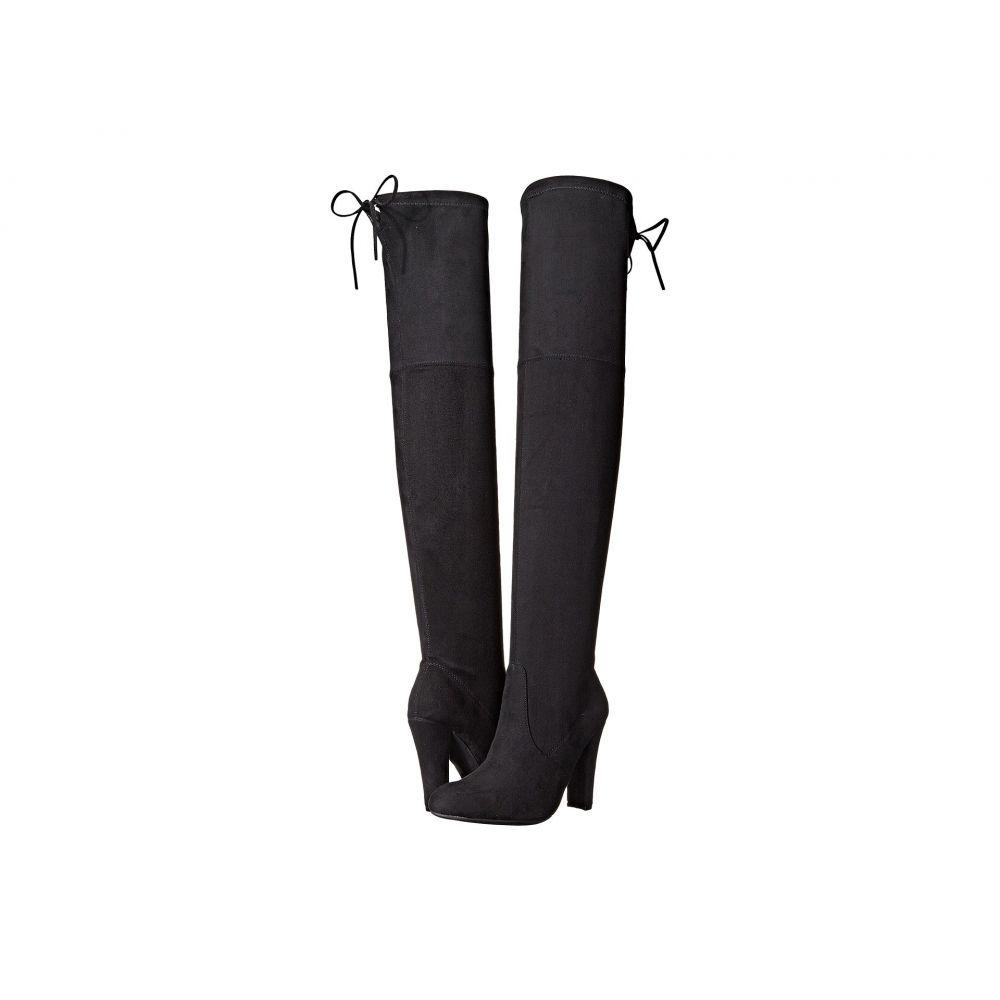 スティーブ マデン Steve Madden レディース シューズ・靴 ブーツ【Gorgeous Knee Boot】Black
