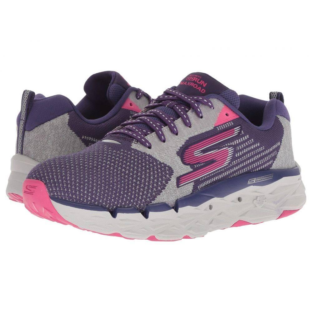 スケッチャーズ SKECHERS レディース ランニング・ウォーキング シューズ・靴【Go Run Max Road】Purple/Pink