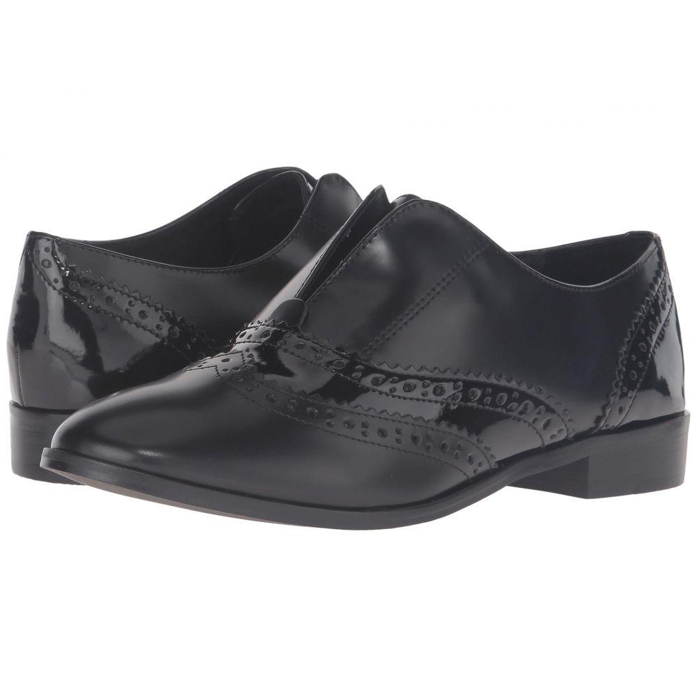 スティーブン Steven レディース シューズ・靴 ローファー・オックスフォード【Alvanah】Black Leather
