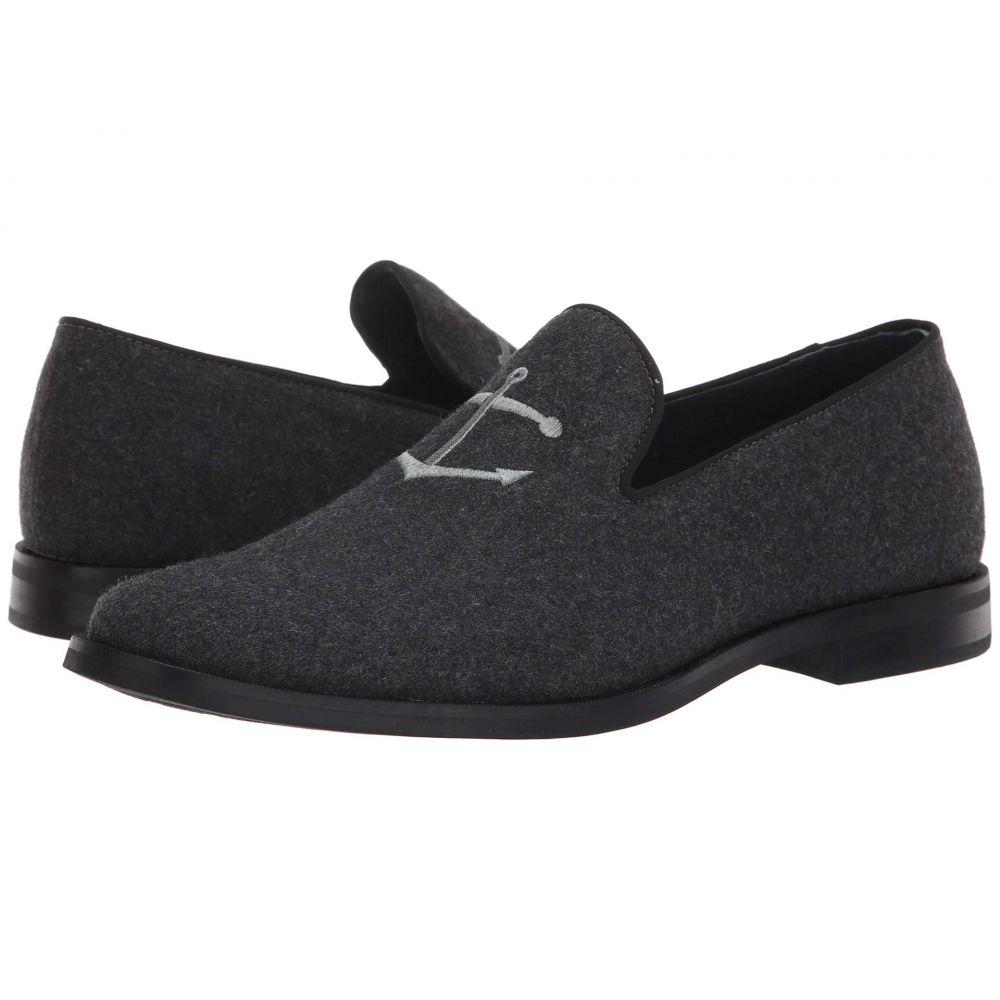 スペリー Sperry メンズ シューズ・靴 エスパドリーユ【Overlook Textile Smoking Slipper】Grey Wool