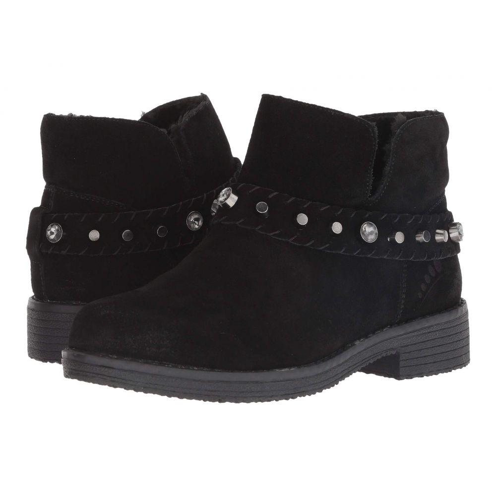 Spring シューズ・靴 Step レディース Suede ブーツ【Rodea】Black スプリングステップ