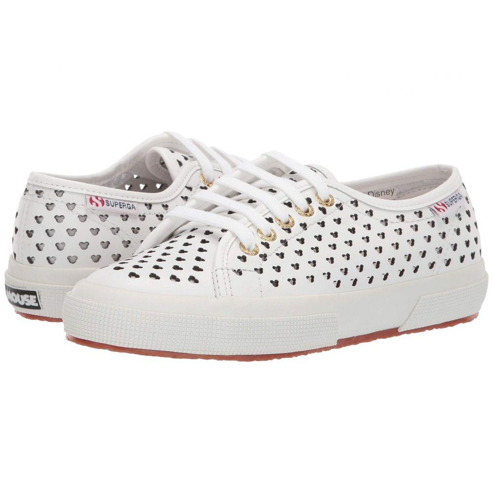 スペルガ Superga レディース シューズ・靴 スニーカー【Disney X - 2750 Punchedfgl Fringw】White