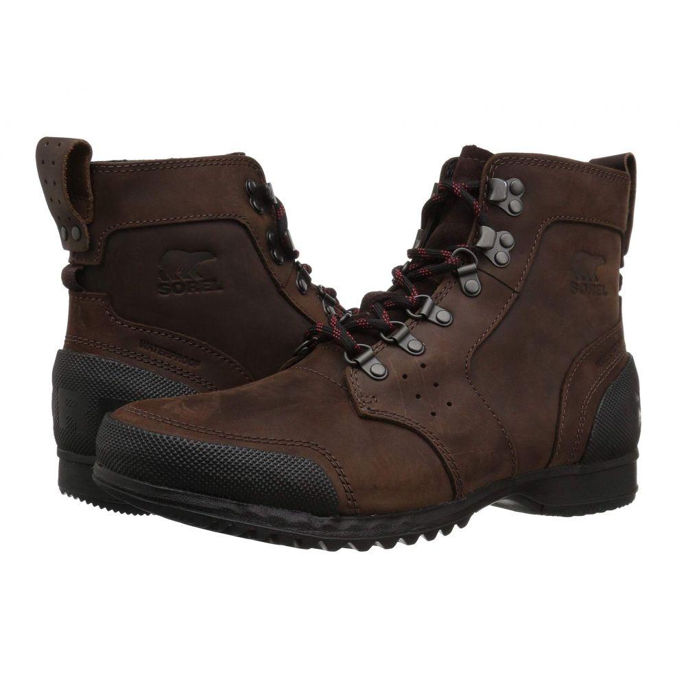 ソレル SOREL メンズ ハイキング・登山 シューズ・靴【Ankeny Mid Hiker】Cattail/Black