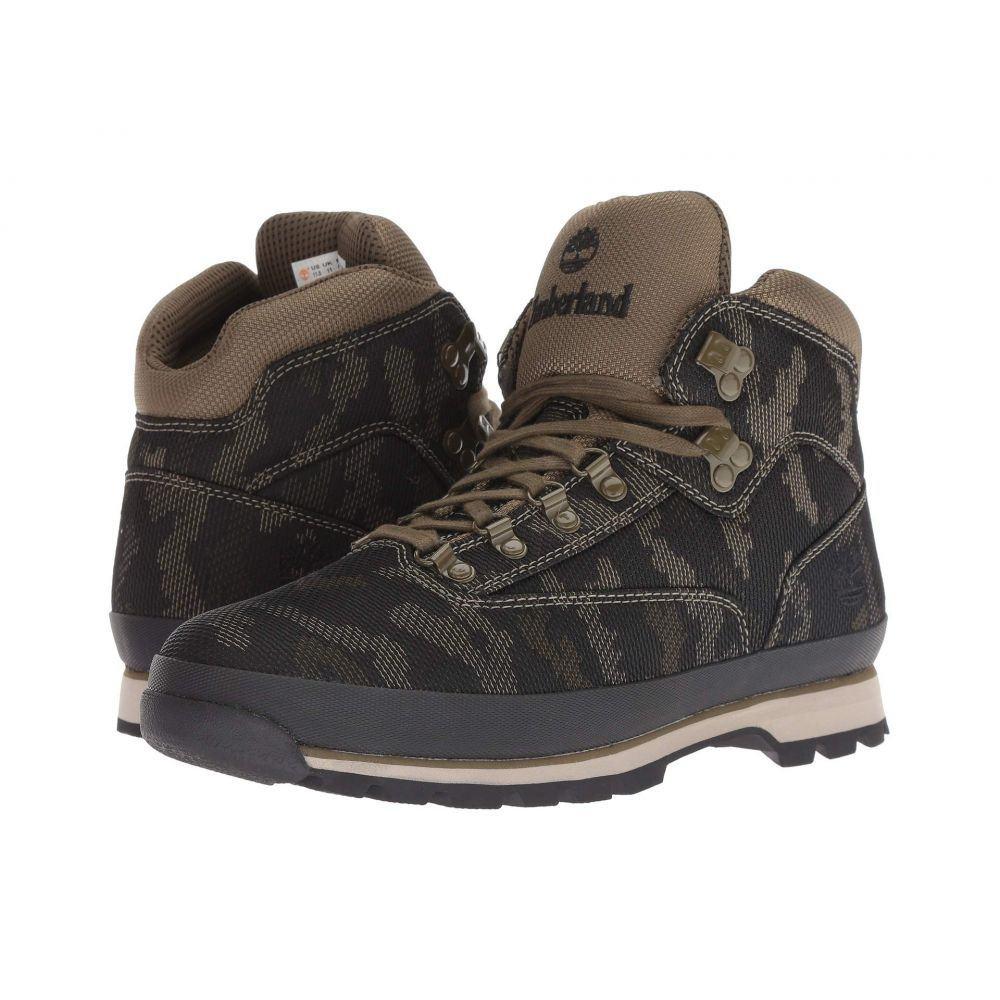 ティンバーランド Timberland メンズ ハイキング・登山 シューズ・靴【Euro Hiker Fabric】Black/Camo Fabric
