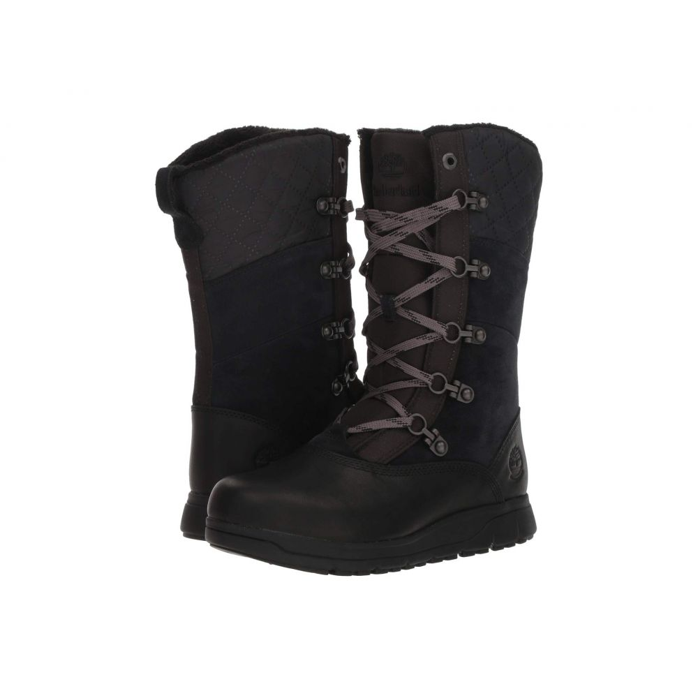 ティンバーランド Timberland レディース シューズ・靴 ブーツ【Haven Point Waterproof】Black Full Grain
