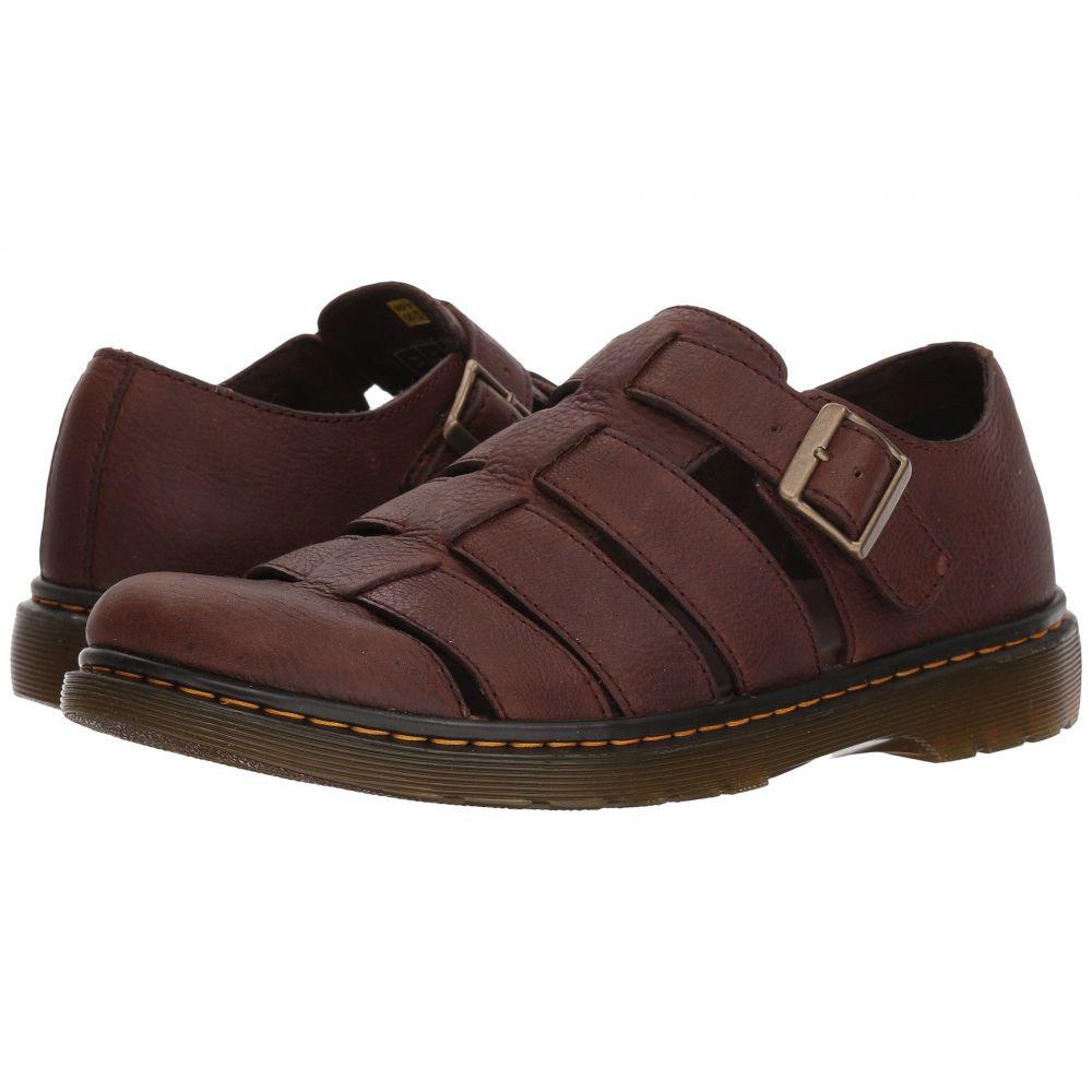 ドクターマーチン Grizzly Dr. Martens メンズ シューズ・靴 サンダル【Fenton シューズ・靴】Dark Martens Brown Grizzly, シャンゼリゼ:6491467e --- sunward.msk.ru