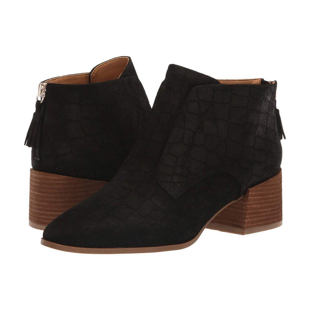 ドクター ショール Dr. Scholl's レディース シューズ・靴 ブーツ【Bianca - Original Collection】Black Croc Embossed Suede
