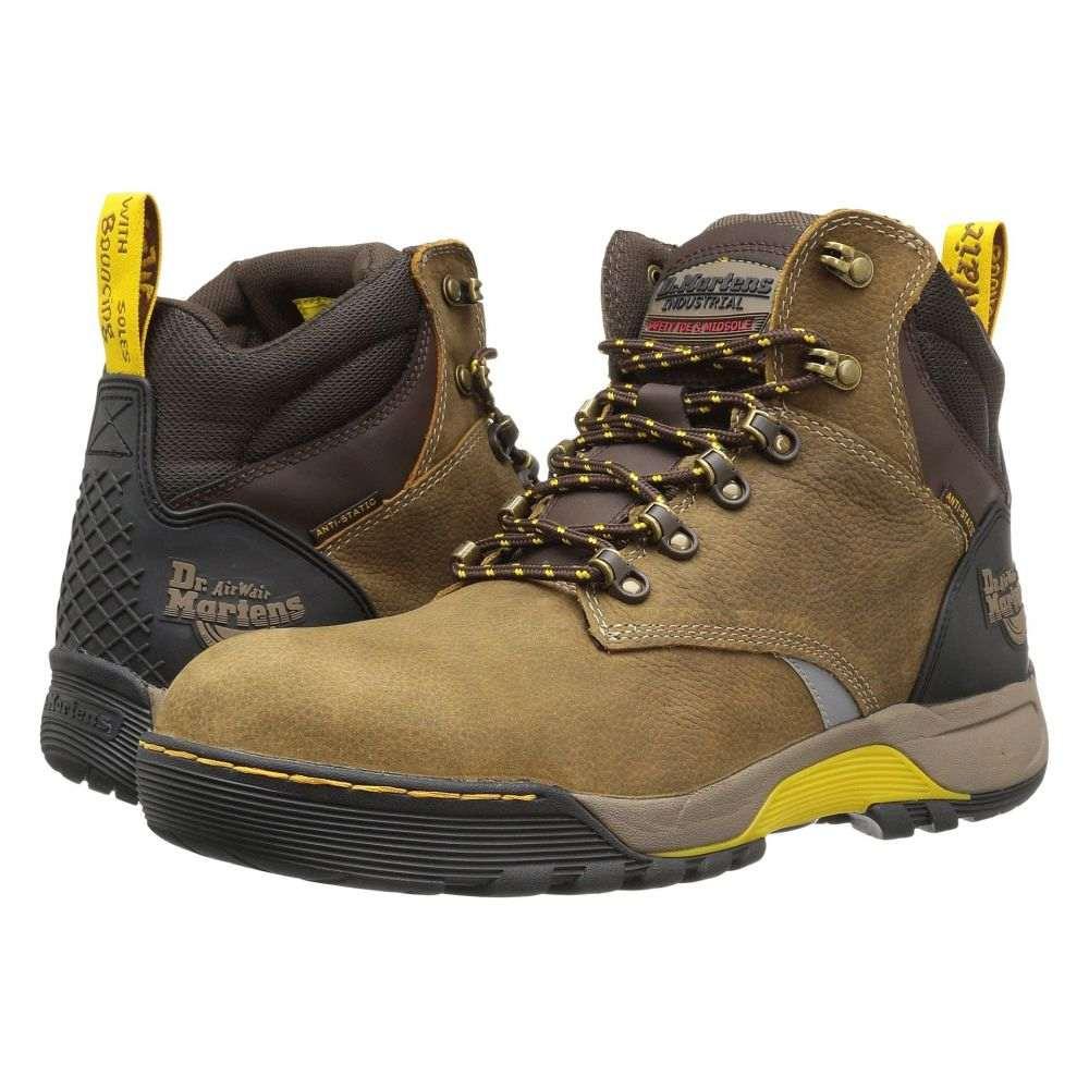 ドクターマーチン Dr. Martens メンズ ハイキング・登山 シューズ・靴【Ridge ST】Brown Overlord Waterproof