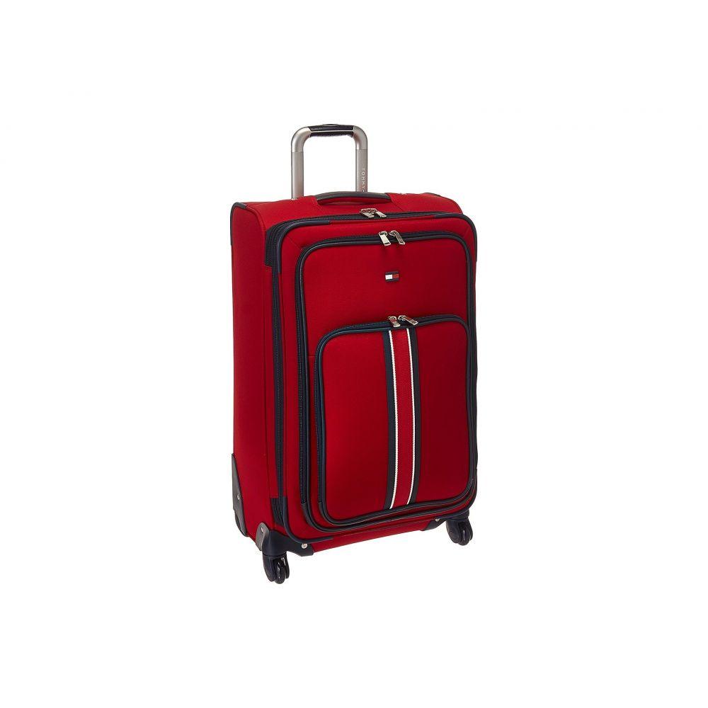 トミー ヒルフィガー Tommy Hilfiger レディース バッグ スーツケース・キャリーバッグ【Signature Solid 24 Upright Suitcase】Red