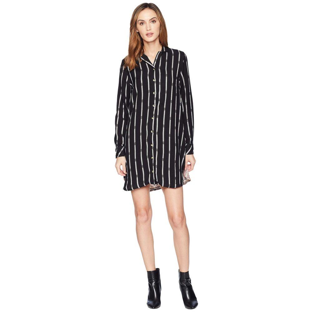 トラーニ Tolani レディース ワンピース・ドレス ワンピース【Alana Plaid Tunic Dress】Noire