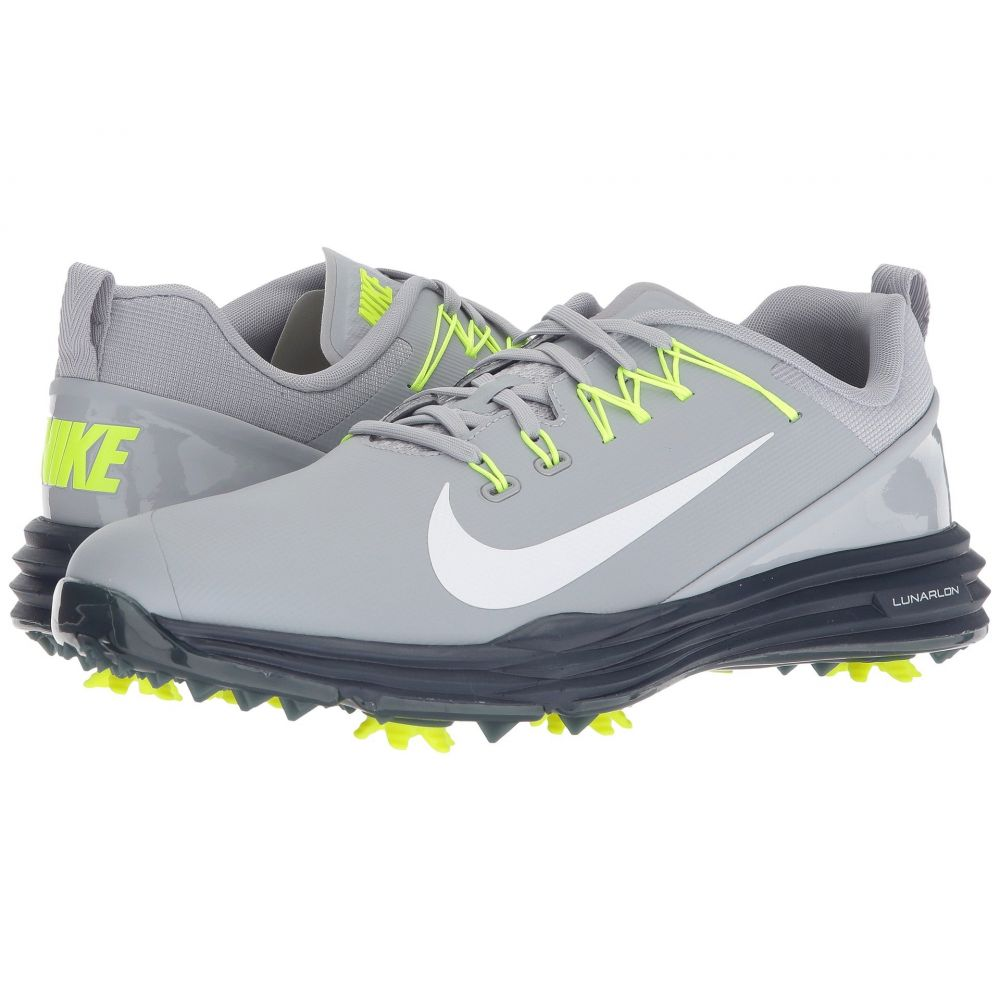 ナイキ Nike Golf メンズ ゴルフ シューズ・靴【Lunar Command 2】Wolf Grey/White/Thunder Blue/Volt