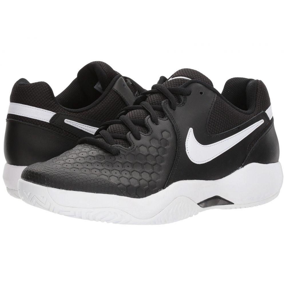 ナイキ Nike メンズ テニス シューズ・靴【Air Zoom Resistance】Black/White