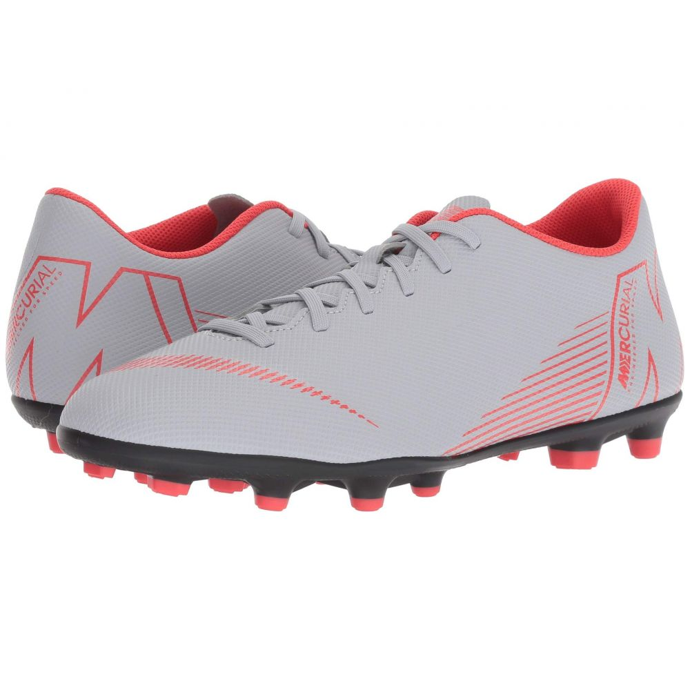 ナイキ Nike メンズ サッカー シューズ・靴【Vapor 12 Club MG】Wolf Grey/Light Crimson/Black