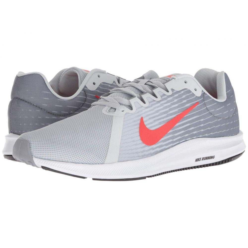 ナイキ Nike メンズ ランニング・ウォーキング シューズ・靴【Downshifter 8】Pure Platinum/Habanero Red/Stealth/Black