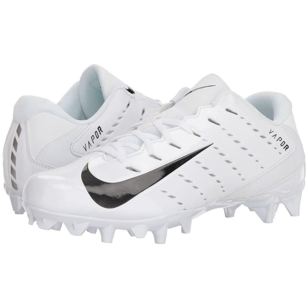 ナイキ Nike メンズ アメリカンフットボール シューズ・靴【Vapor Varsity 3 TD】White/Black/Metallic Silver