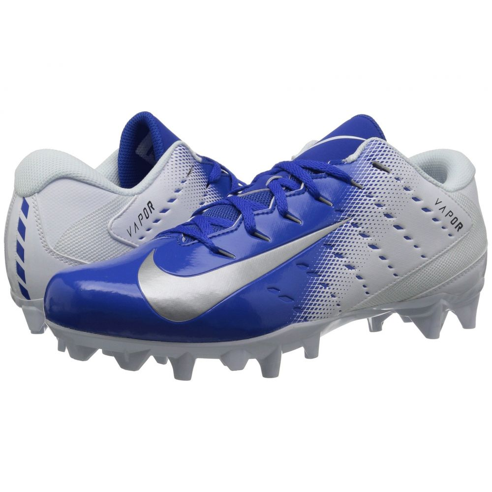 ナイキ Nike メンズ アメリカンフットボール シューズ・靴【Vapor Varsity 3 TD】White/Metallic Silver/Game Royal/Black