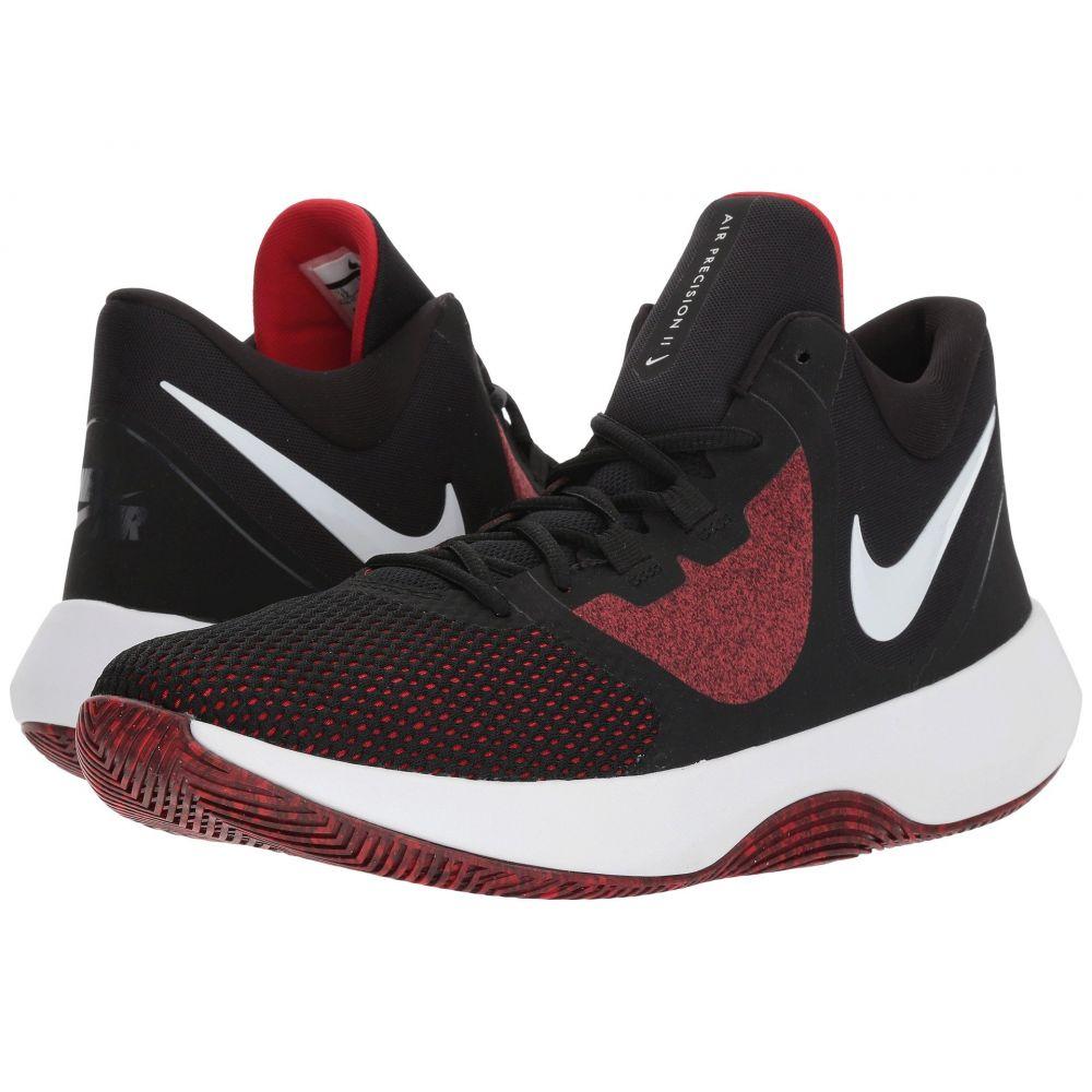 ナイキ Nike メンズ バスケットボール シューズ・靴【Air Precision II】Black/White/University Red