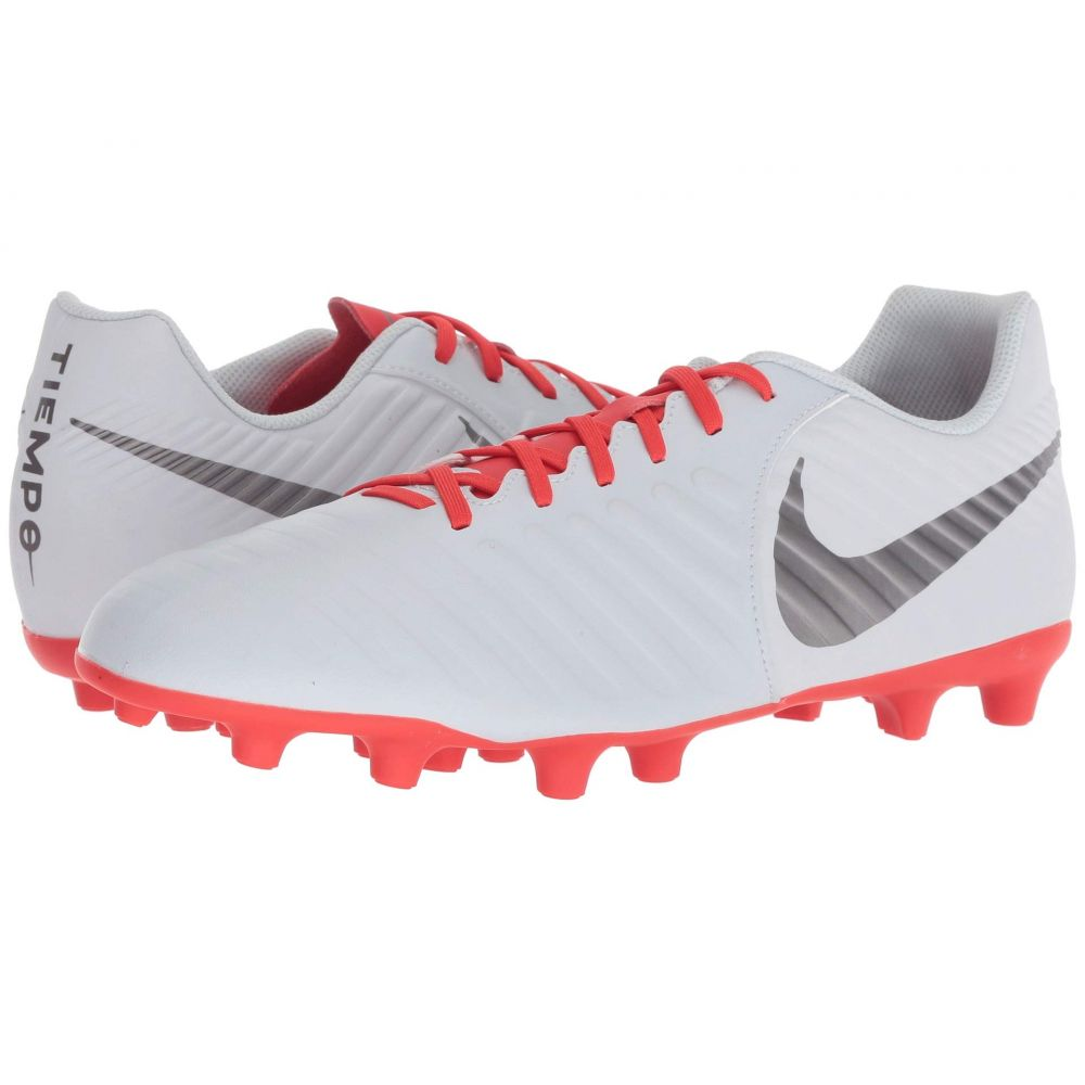 ナイキ Nike メンズ サッカー シューズ・靴【Legend 7 Club MG】Pure Platinum/Metallic Dark Grey/Light Crimson