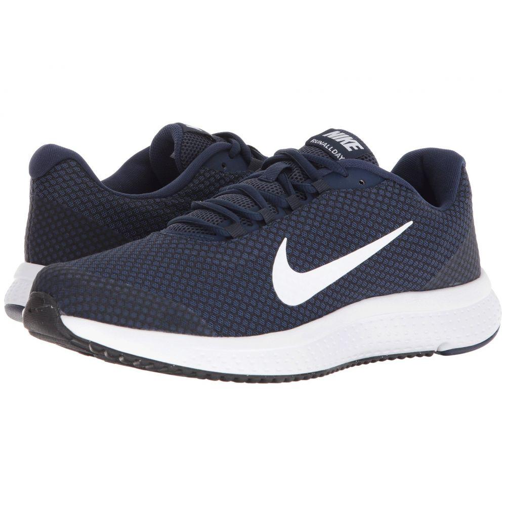 ナイキ Nike メンズ ランニング・ウォーキング シューズ・靴【RunAllDay】Midnight Navy/White/Dark Obsidian/Black