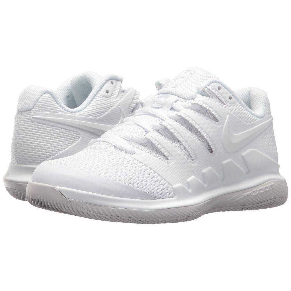 ナイキ Nike レディース テニス シューズ・靴【Air Zoom Vapor X】White/White/Vast Grey