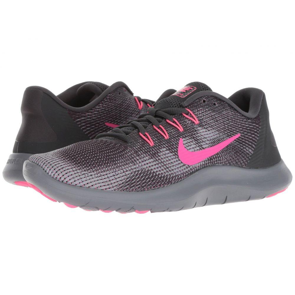 ナイキ Nike レディース ランニング・ウォーキング シューズ・靴【Flex RN 2018】Anthracite/Hyper Pink/Wolf Grey