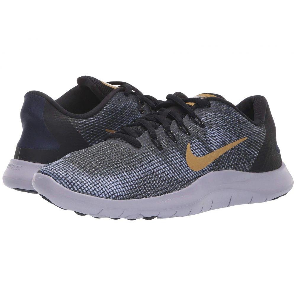 ナイキ Nike レディース ランニング・ウォーキング シューズ・靴【Flex RN 2018】Black/Metallic Gold/Obsidian