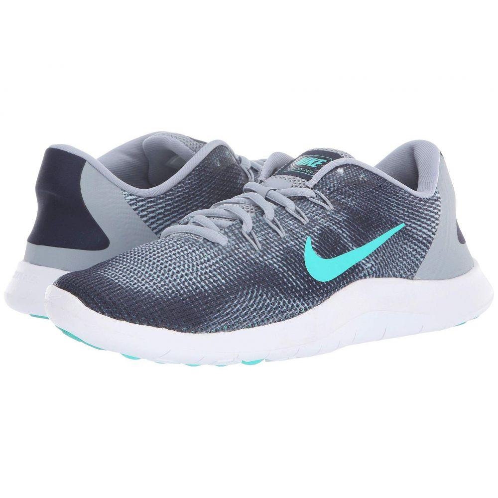 ナイキ Nike レディース ランニング・ウォーキング シューズ・靴【Flex RN 2018】Obsidian Mist/Hyper Jade/Obsidian/White