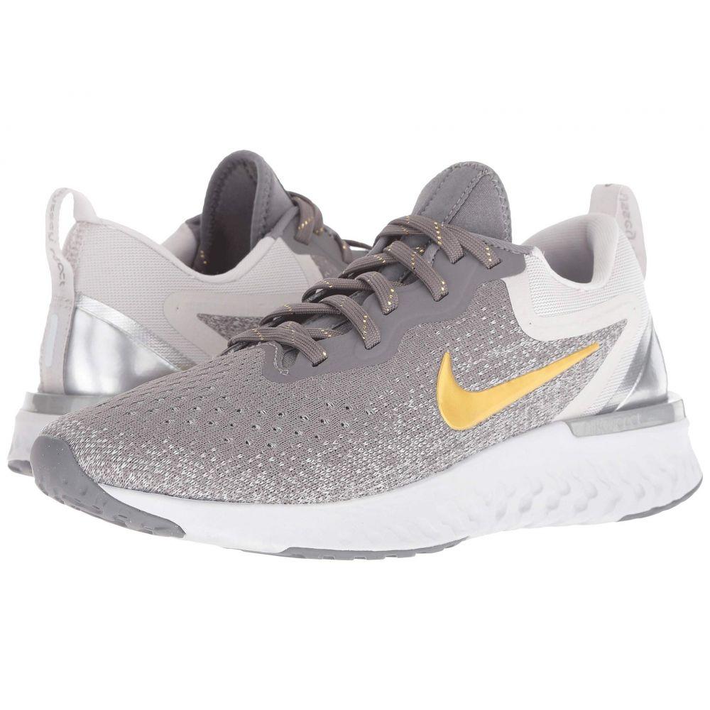 ナイキ Nike レディース ランニング・ウォーキング シューズ・靴【Odyssey React Premium】Gunsmoke/Metallic Gold/Vast Grey