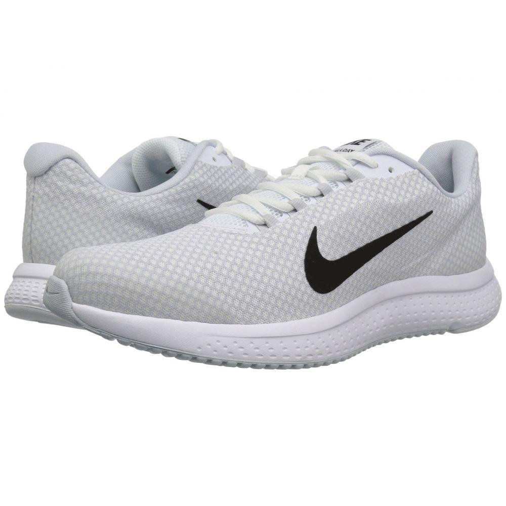 ナイキ Nike メンズ ランニング・ウォーキング シューズ・靴【RunAllDay】White/Black/Pure Platinum