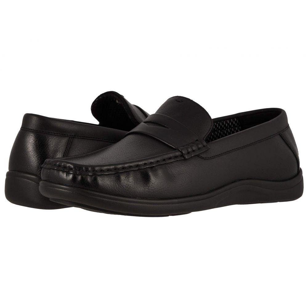 ナンブッシュ Nunn Bush メンズ シューズ・靴 スリッポン・フラット【Brentwood Moc Toe Penny Slip-On】Black