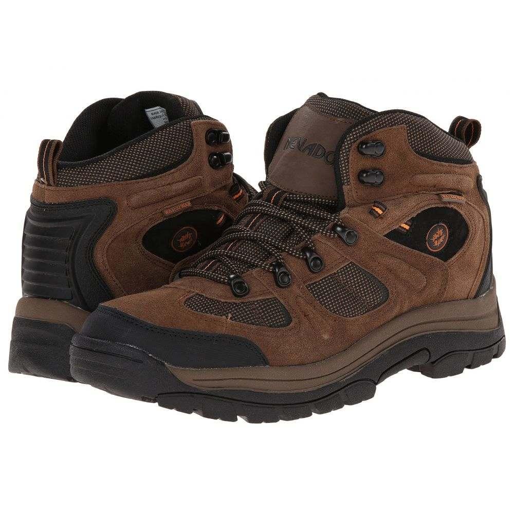 ネバドス Nevados メンズ ハイキング・登山 シューズ・靴【Klondike Mid WP】Earth Brown/Black/Tigerlily Orange 1