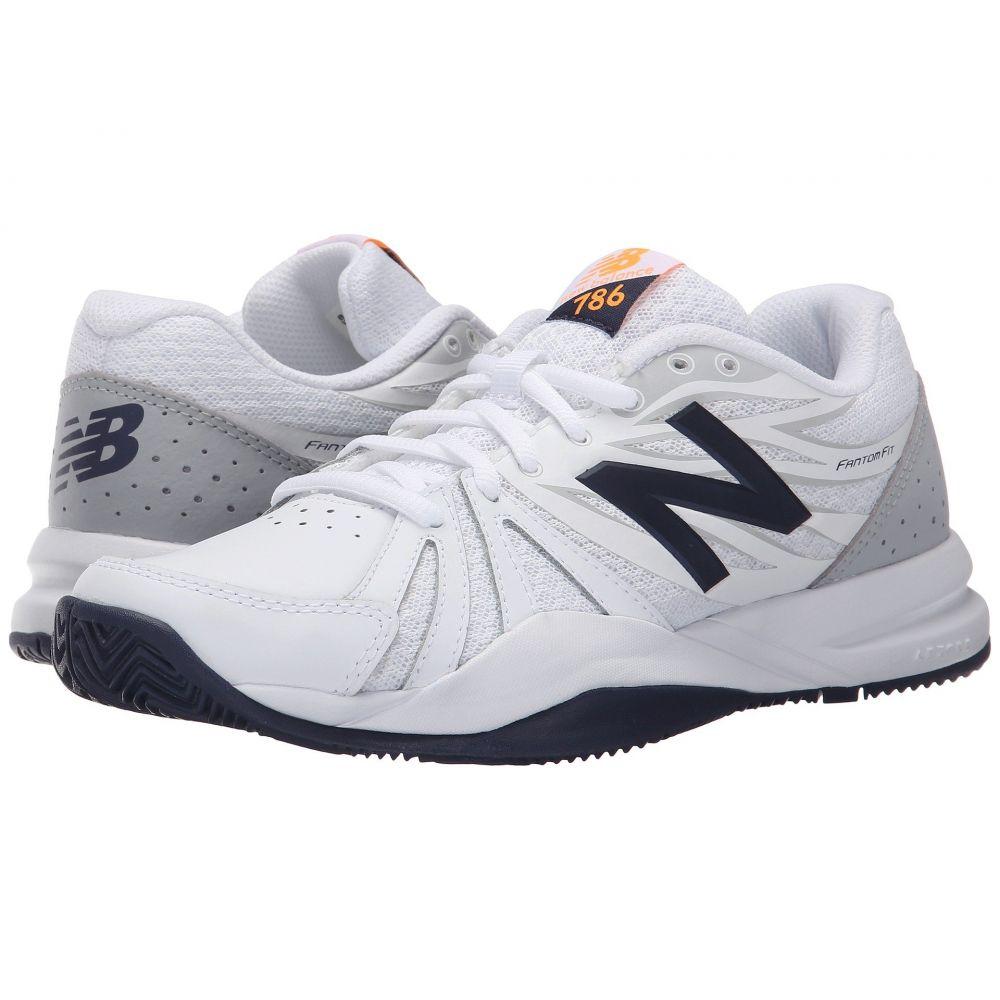 ニューバランス New Balance レディース テニス シューズ・靴【WC786v2】White/Blue