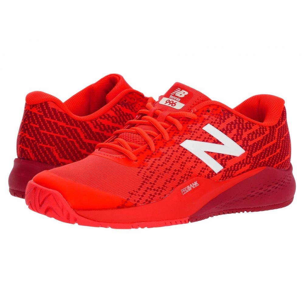 ニューバランス New Balance メンズ テニス シューズ・靴【MCH996v3】Flame/Team Red