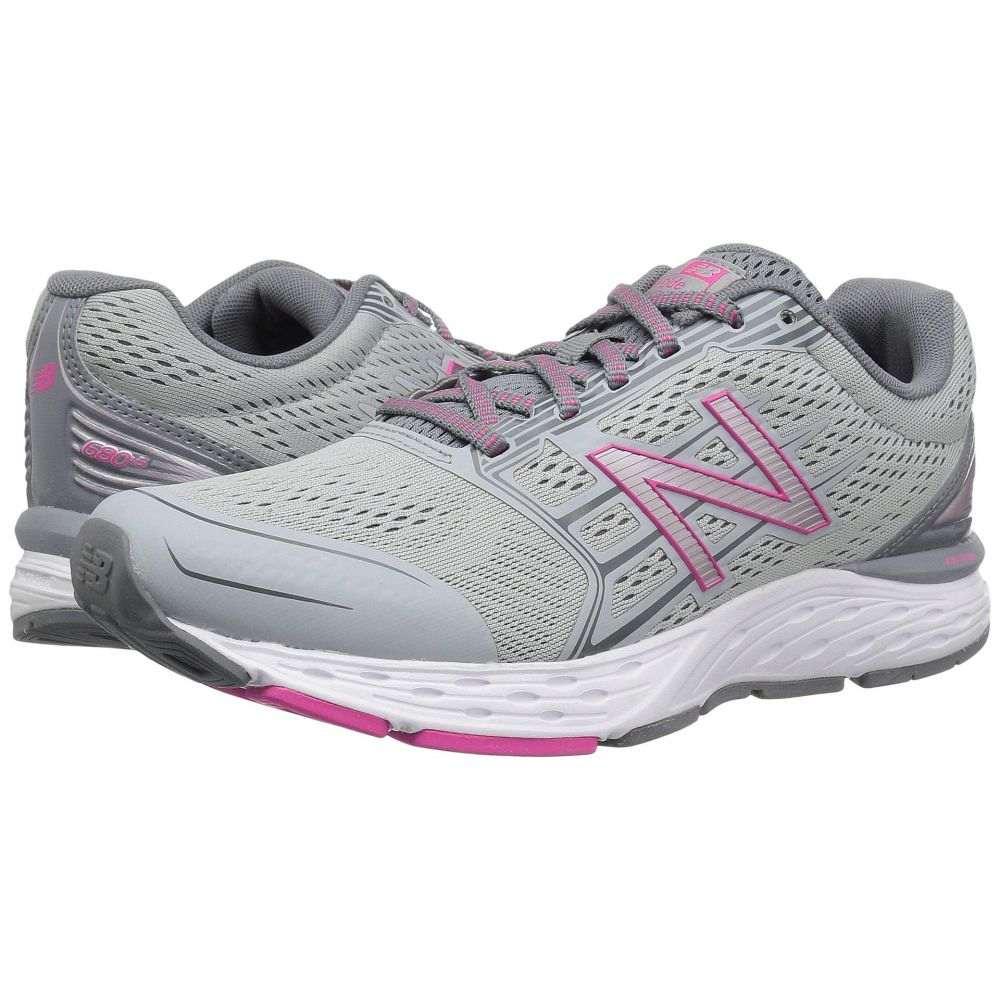 ニューバランス New Balance レディース ランニング・ウォーキング シューズ・靴【680v5】Silver Mink/Gunmetal/Pink Glo
