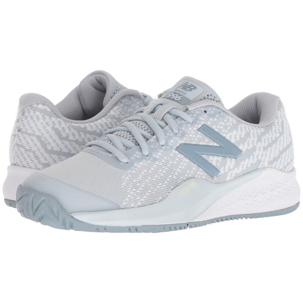 ニューバランス New Balance レディース テニス シューズ・靴【WCH996v3 Tennis】Light Cyclone/White
