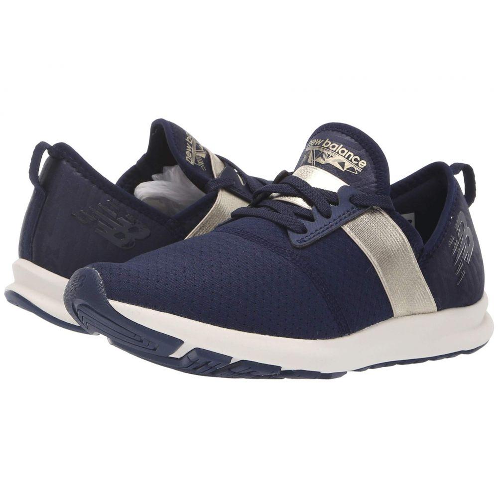 ニューバランス New Balance レディース ランニング・ウォーキング シューズ・靴【WXNRGv1】Pigment/Metallic Gold