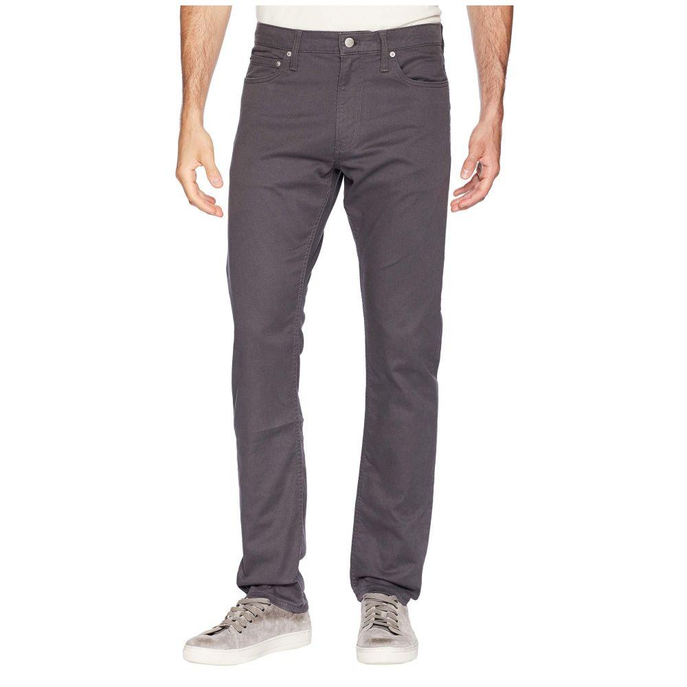 カルバンクライン Calvin Klein Jeans メンズ ボトムス・パンツ【Five-Pocket Stretch Twill Pants】Gray Pinstripe