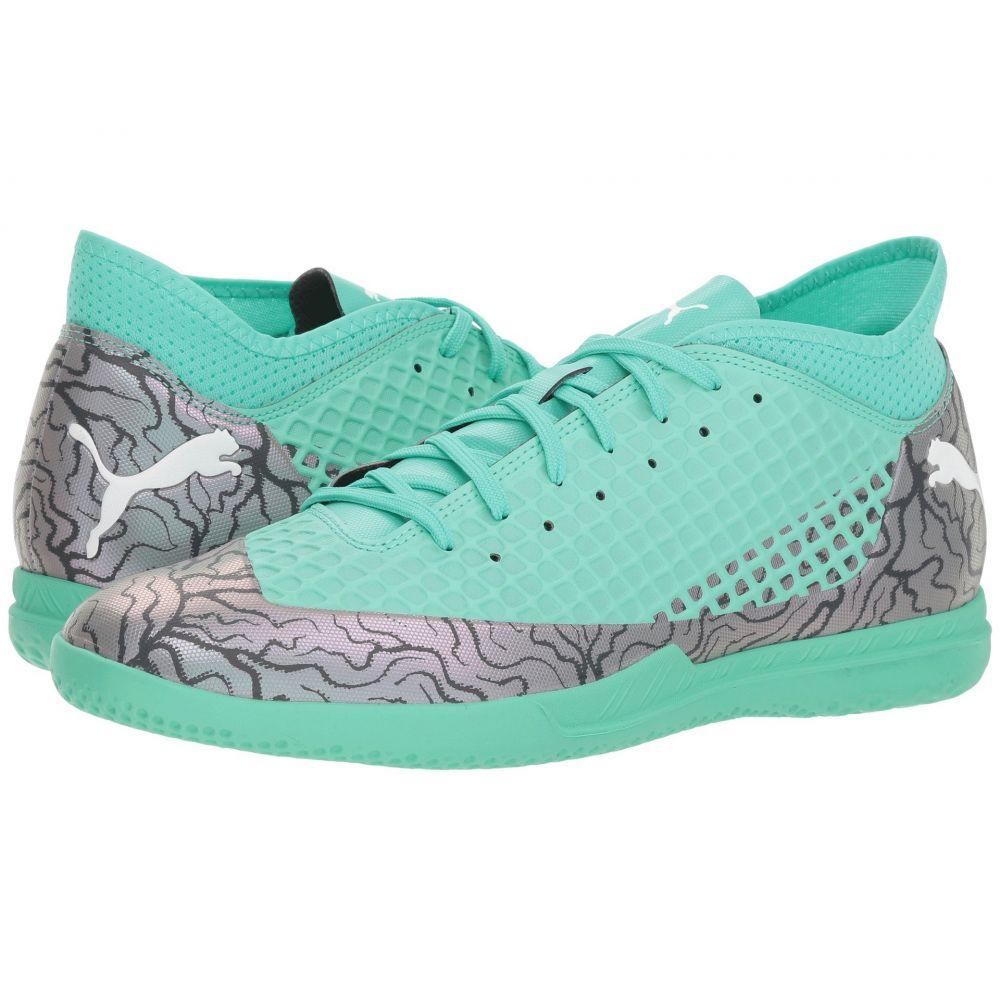 プーマ PUMA メンズ サッカー シューズ・靴【Future 2.4 IT】Color Shift/Biscay Green/Puma White/Puma Black