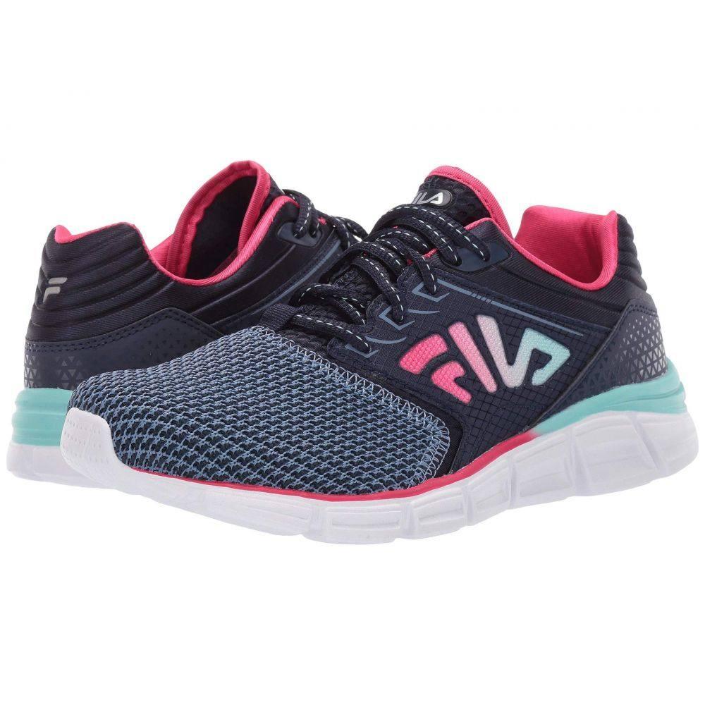 フィラ Fila レディース ランニング・ウォーキング シューズ・靴【Memory Multiswift 2 Running】Fila Navy/Aruba Blue