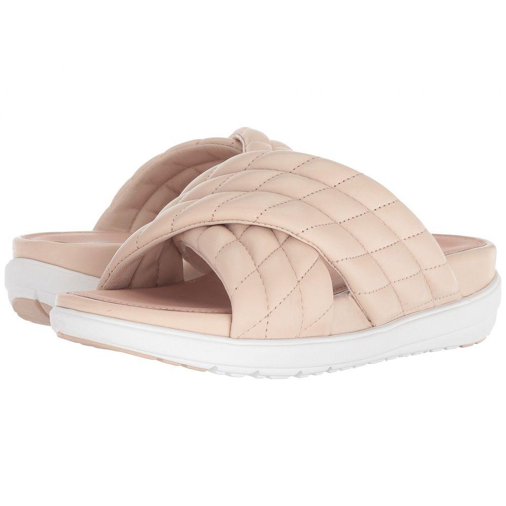 フィットフロップ FitFlop レディース シューズ・靴 サンダル・ミュール【Loosh Luxe Cross Slide Leather Sandals】Nude Leather