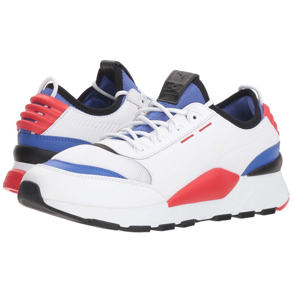 プーマ PUMA メンズ ランニング・ウォーキング シューズ・靴【Rs-0 Sound】Puma White/Dazzling Blue/High Risk Red