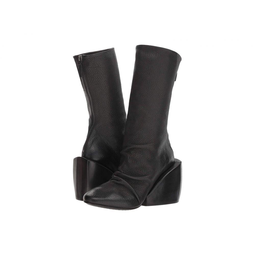 マルセル Marsell レディース シューズ・靴 ブーツ【Massiccia Architectural Heel Boot】Black
