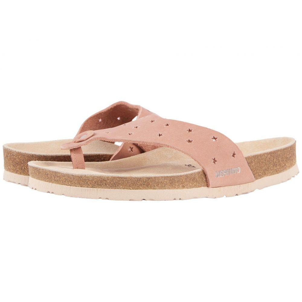 メフィスト Mephisto レディース シューズ・靴 ビーチサンダル【Nikie Star】Old Pink Nubuck
