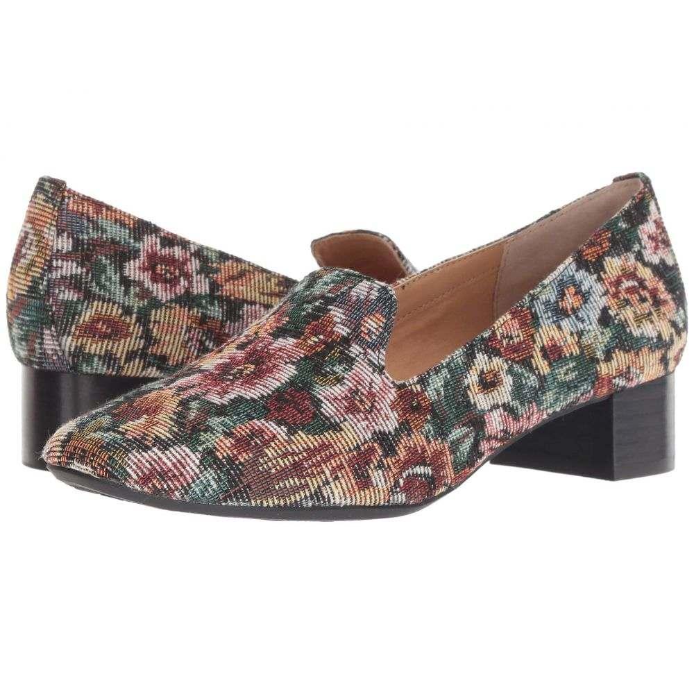 ミートゥー Me Too レディース シューズ・靴 ローファー・オックスフォード【Gwen】Wine Floral Tapestry