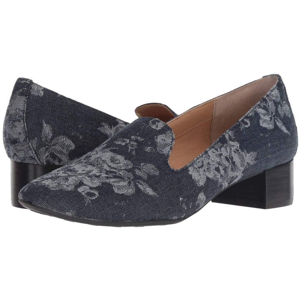 ミートゥー Me Too レディース シューズ・靴 ローファー・オックスフォード【Gwen】Navy Floral Denim