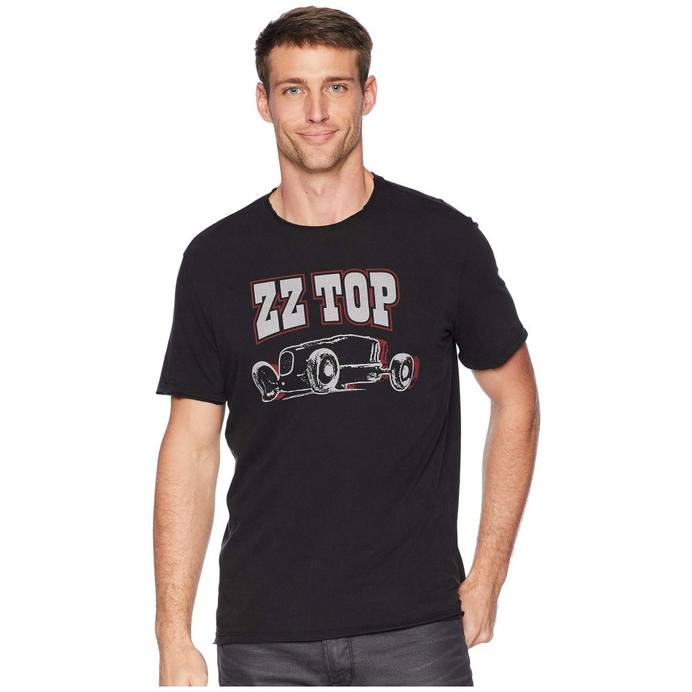 ジョン バルベイトス John Varvatos Star U.S.A. メンズ トップス Tシャツ【ZZ Top】Black