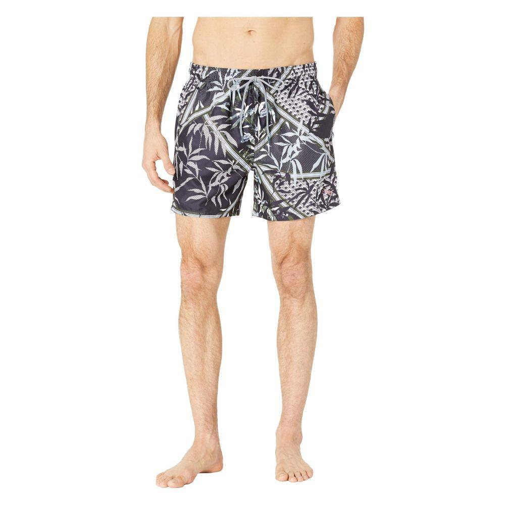 テッドベーカー Ted Baker メンズ 水着・ビーチウェア 海パン【Plecoe Floral Mashup Print Swim Shorts】Navy