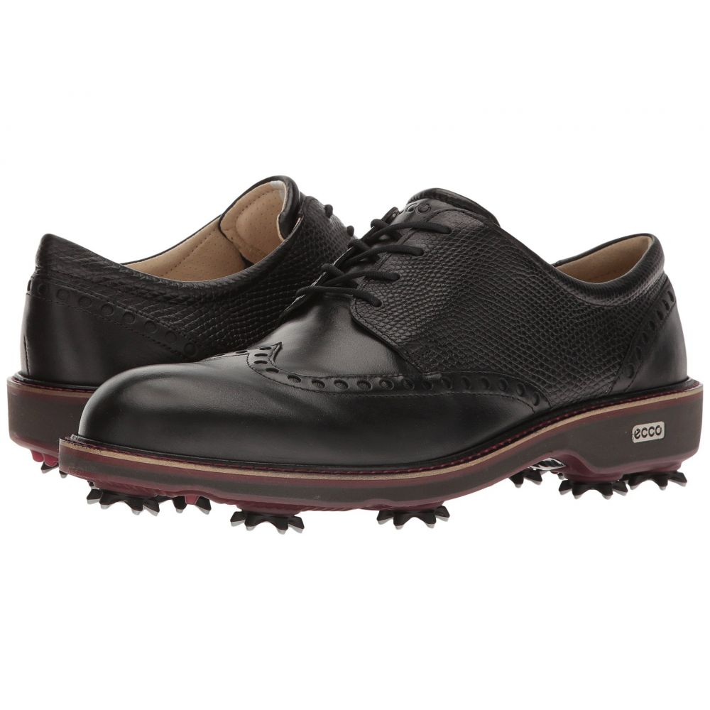 エコー ECCO Golf メンズ ゴルフ シューズ・靴【Golf Lux】Black/Black