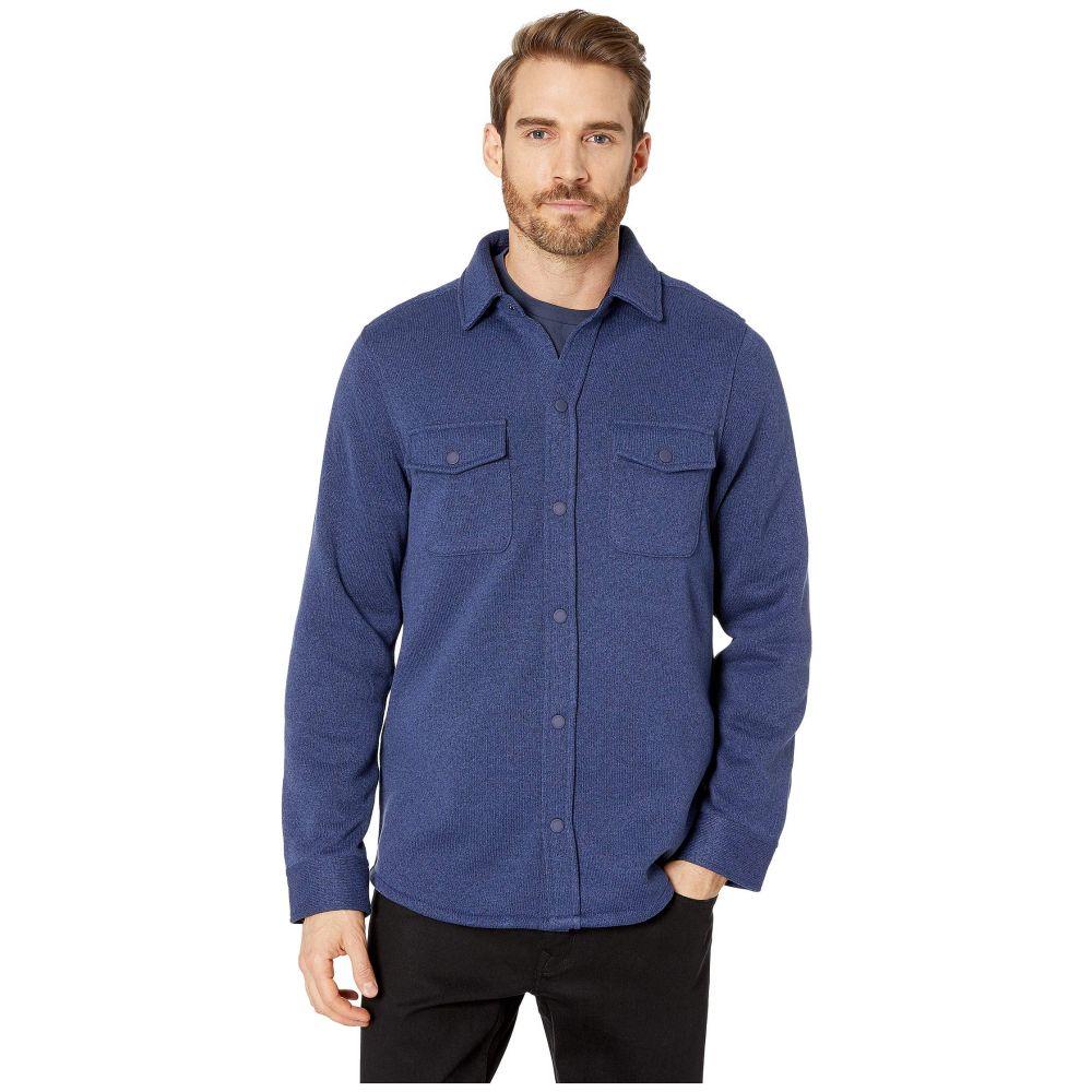 ヴィニヤードヴァインズ Vineyard Vines メンズ アウター ジャケット【Knit Shirt Jacket】Deep Bay