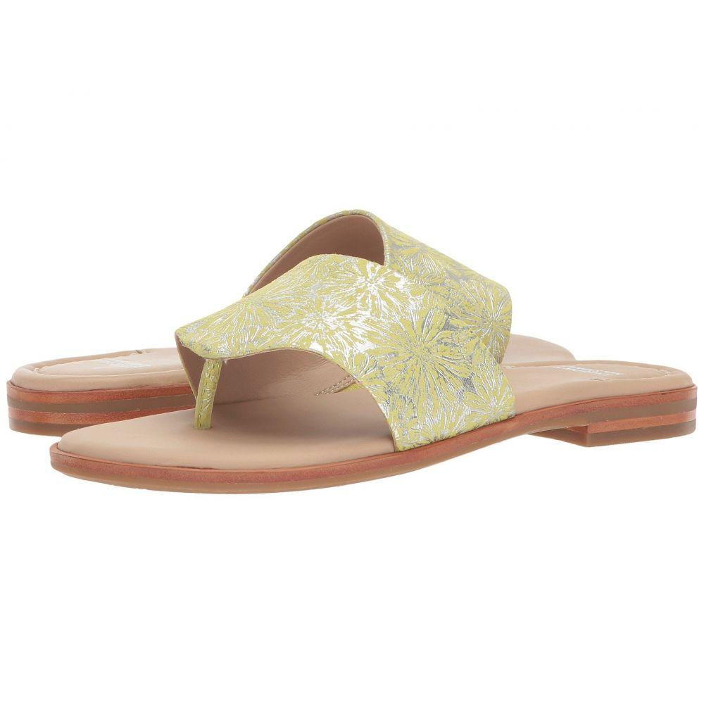 ジョンストン&マーフィー Johnston & Murphy レディース シューズ・靴 ビーチサンダル【Raney】Lime Metallic Print Suede